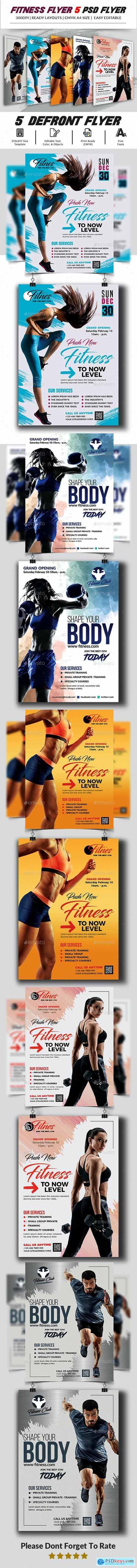 Fitness Flyer 24037338