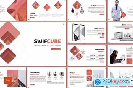 Swiftcube Powerpoint, Keynote and Google Slides Templates