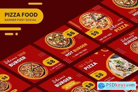 Pizza Food Banner Template