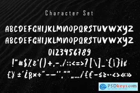 THORIS Brush Font