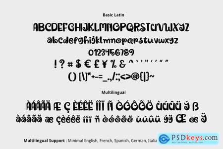 Royal Jelly Font