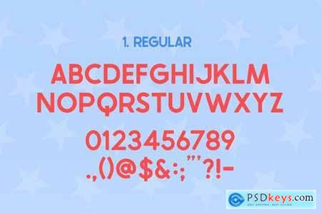 The USA Font Family