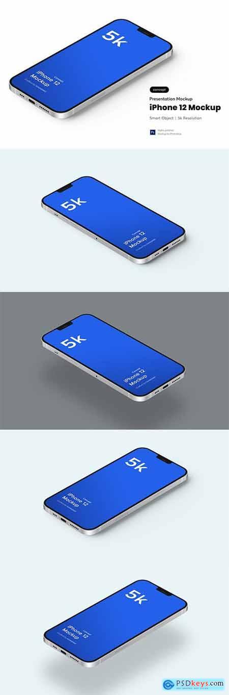 iPhone 12 Mockup 5.0 (Concept)