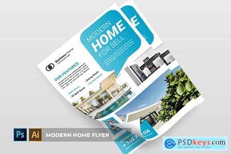 Modern Home - Flyer