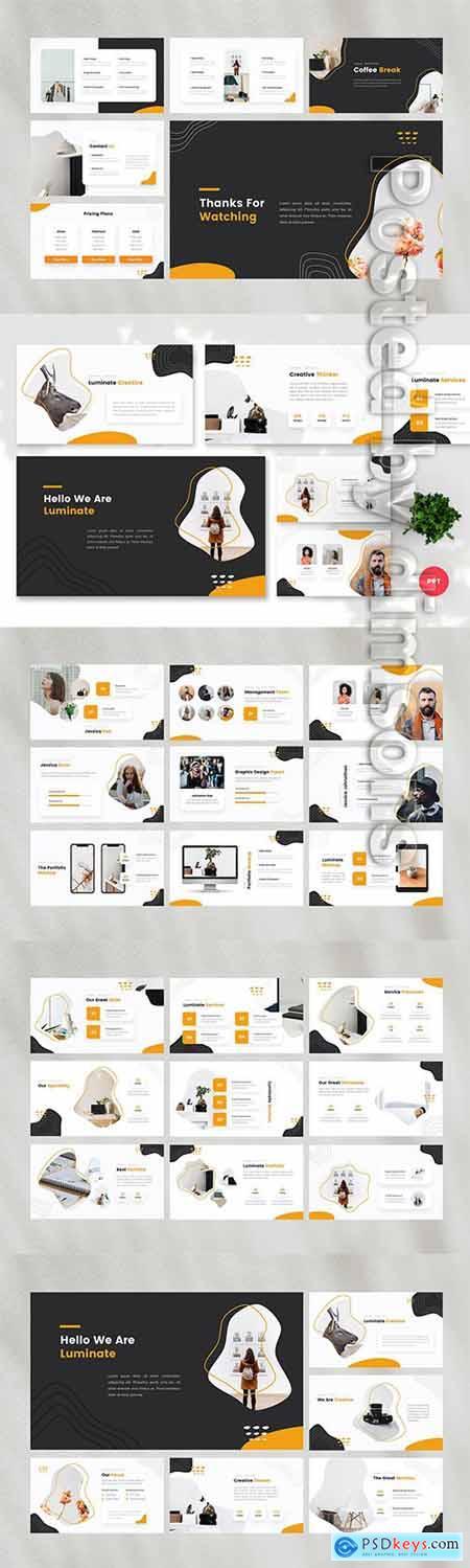 Luminate - Creative PowerPoint, Keynote, Google Slides Templates
