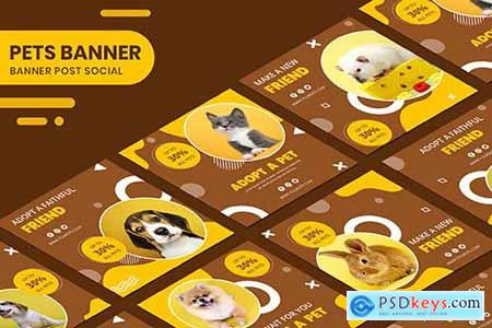 Adopt A Pet Instagram Post Collection Banner