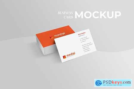 Perspective Business Card Mockup - Light File Size276