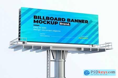 Billboard Banner Mock-up Template