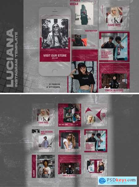 Luciana Instagram Templates 4453638