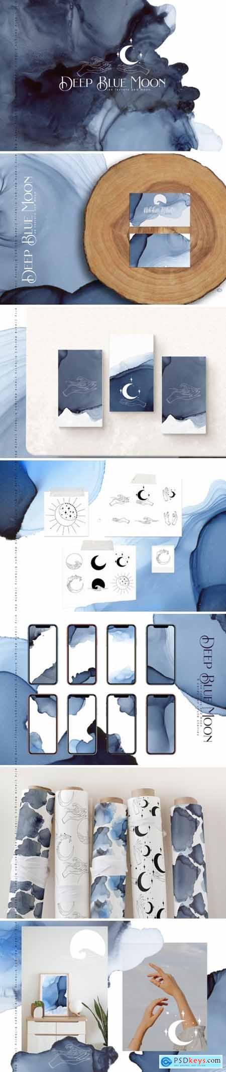 Deep Blue Moon 4427427