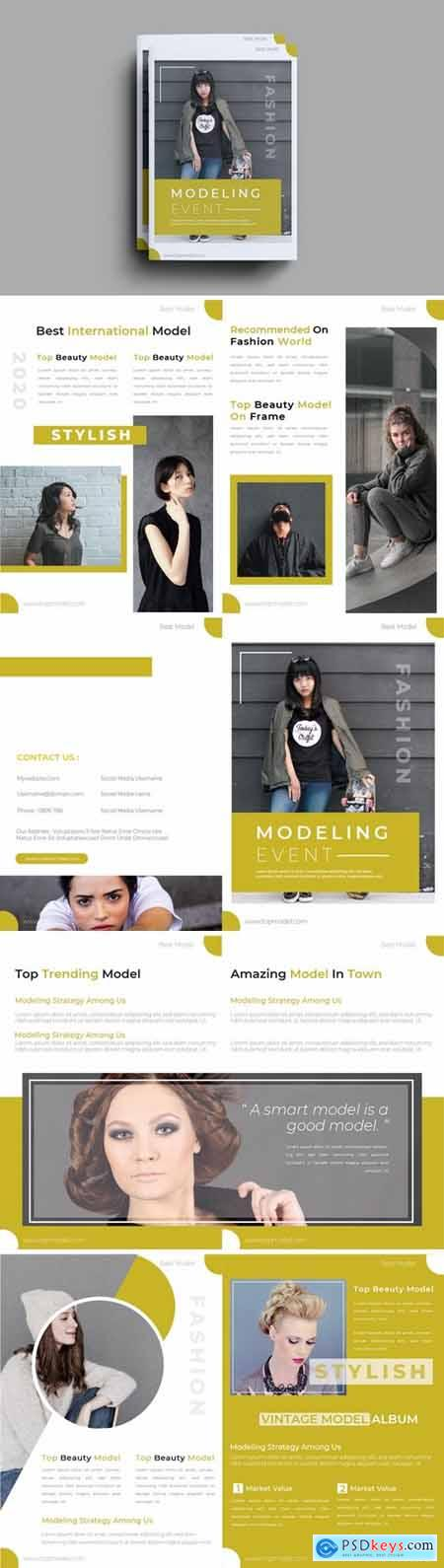 Modeling Event Brochure Template