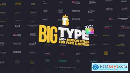 Big Type 300 titles for FCPX 27096182