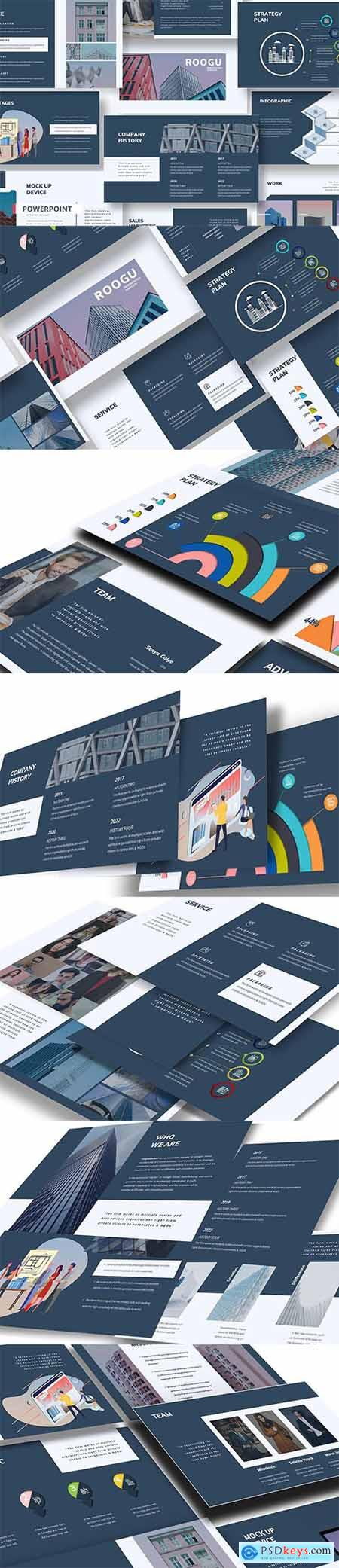 TECHNOLOGY BUSINESS - PowerPoint, Keynote, Google Slides Templates