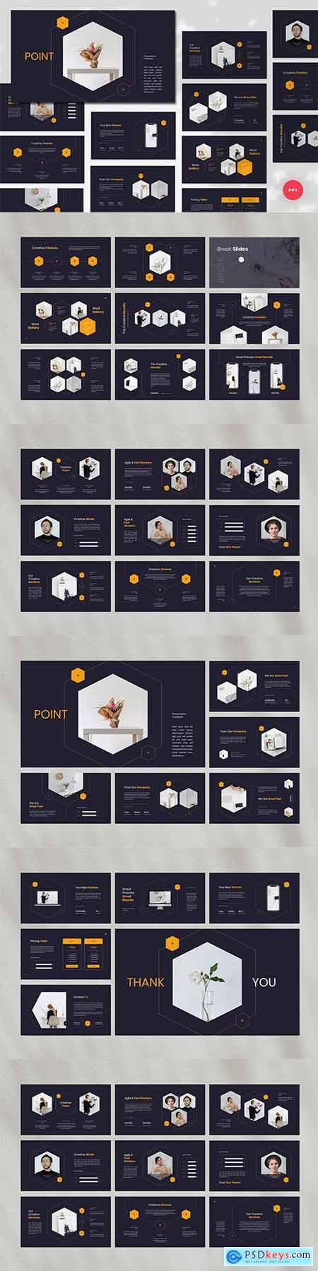 Point - Creative PowerPoint, Keynote, Google Slides Templates