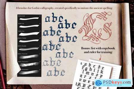 Medieval Manuscript Creator Kit 4674206