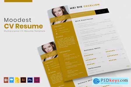 Moodest - CV & Resume