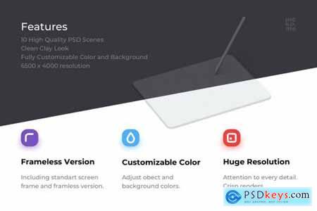 iPad Pro 2020 Mockups 5106675