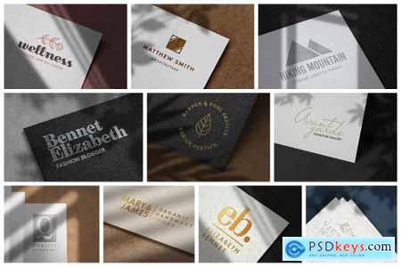 Modern Luxury Logo Mockup Set 1 5109680