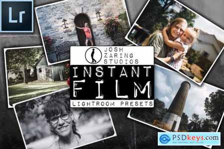 Instant Film Lightroom Presets 5006787
