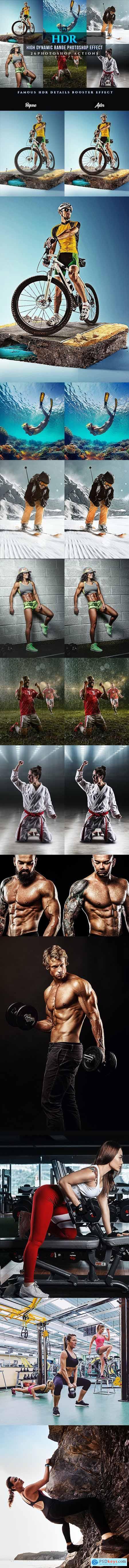 HDR Sport Magazine Photoshop 26 Effects 24381878