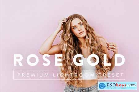 ROSE GOLD Premium Lightroom Preset 5059706