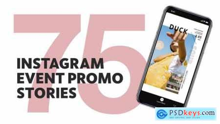 75 Insta Event Promo Stories For Final Cut & Apple Motion 27466042