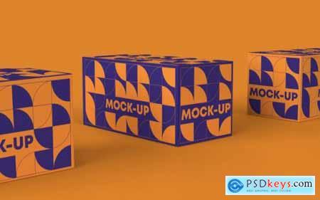 Orange branding mockup