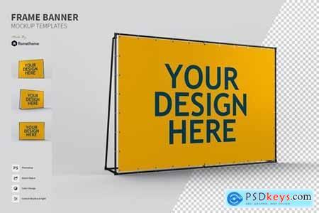 Frame Ads Banner - Mockups FH