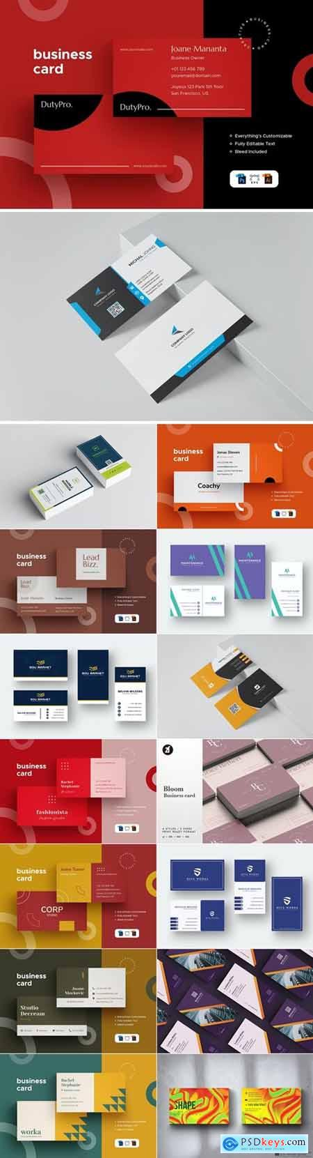 Business Card Bundle 21