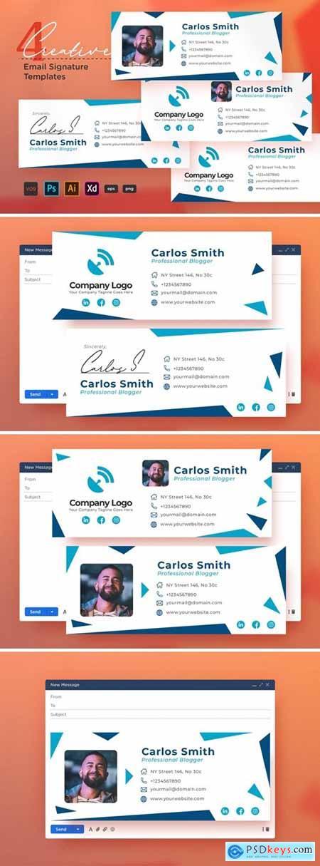 Creative Email Signature Vol.09