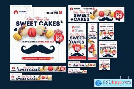 Cake Shop Banners Ad