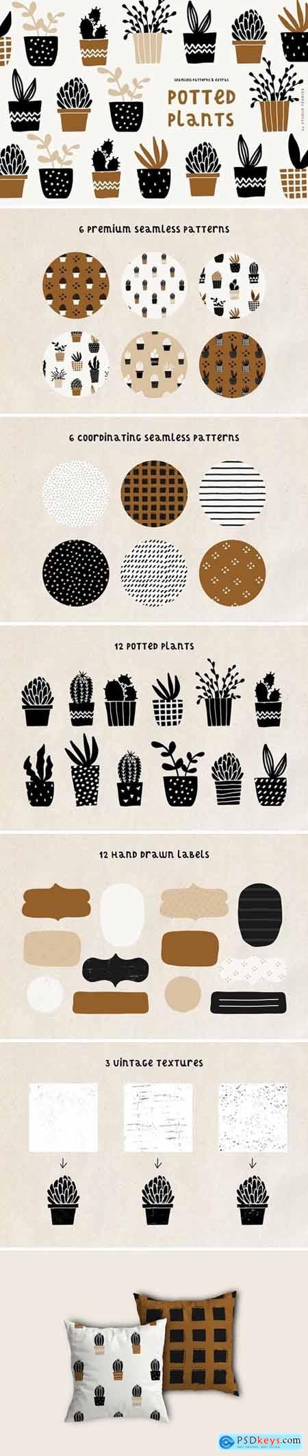 Potted Plants - Patterns & Extras 3567173