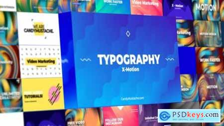 X-Motion Typography After Effects 27517279