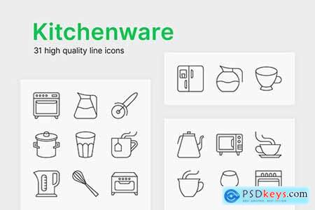 Kitchenware Icons601
