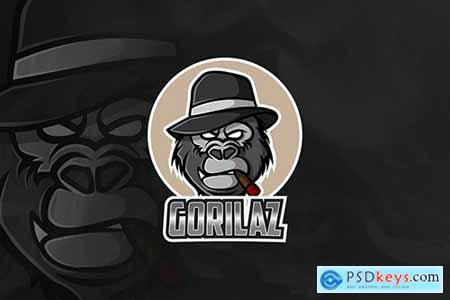 Gorilaz - Mascot & Esport Logo