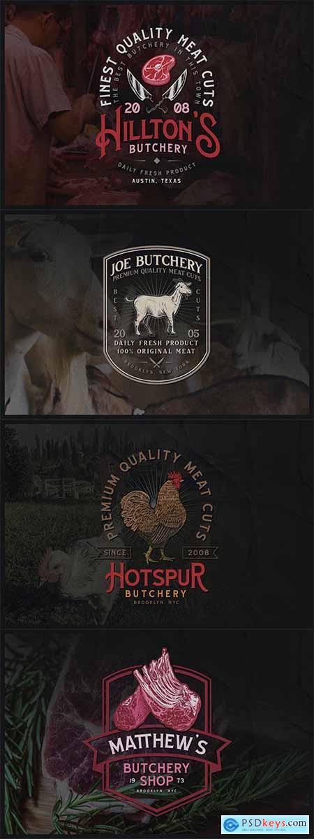 Butchery Badge Volume 2 No3-6