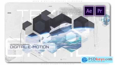 Hexa E Motion Digital Slideshow 27456733