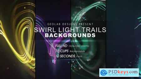 Swirl Light Trails Backgrounds l Colorful Trails Backgrounds l Flow Lines Backgrounds 27511667