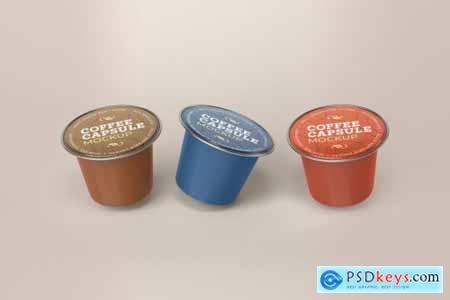 Coffee Capsule Mockup Packaging 5135762