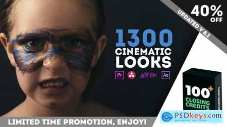 LUTs Color Presets Pack Cinematic Looks Premiere Pro V8 23392018