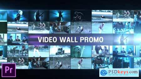 Video Wall Promo Premiere Pro 25509555