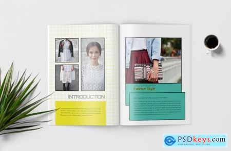 Lookbook Magazine Template 2