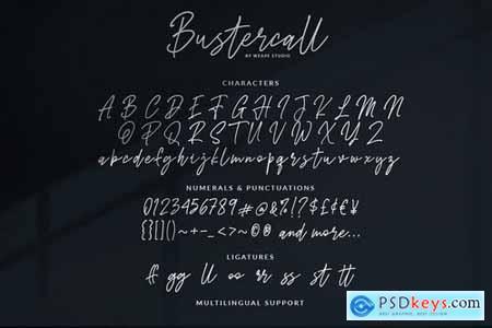 Bustercall - Signature Script