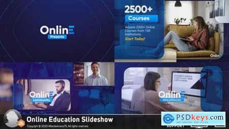 Online Education Slideshow 26737959