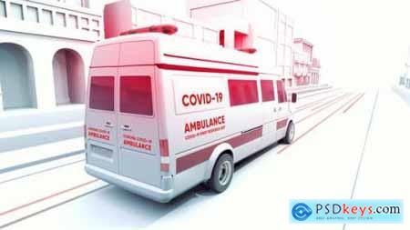 Covid-19 3D Medical Promo 26418573