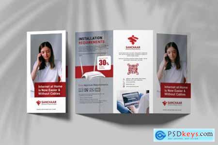 Internet Provider Promotional Trifold Brochure