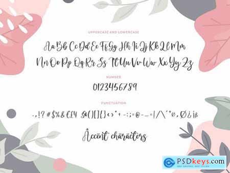 Dandelion YH - Modern Script Font
