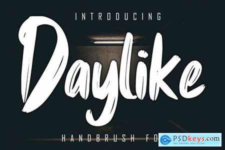 Daylike Handbrush Font