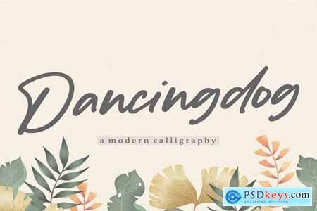 Dancingdog YH - Modern Script Font