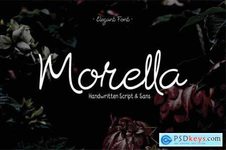 Morrella Hand drawn Script Fonts